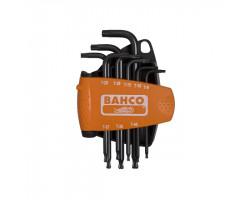 BE-9675 Набор шестигранников TORX (8шт) BAHCO