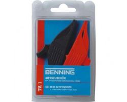 Безопасные зубчатые зажимы 4 мм (2 шт) 044124 TA1 BENNING