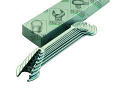 HE-00350944082 Набор двусторонних гаечных ключей (6-22мм) HEYCO
