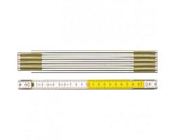 01128 Метр складной деревянный тип 617 2м х 16мм