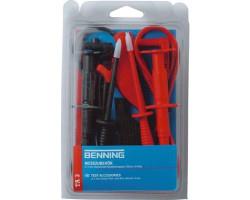 Набор безопасных измерительных линий 4 мм (8 предметов) 044126 TA3 BENNING