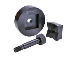 Матрица для пробивки квадратных отверстий 46х46 мм МПО-46х46 КВТ