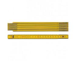 01604 STABILA Метр складной деревянный тип 907 2м х 16мм