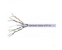 GCE538004CC4P Кабель передачи данных JetLan6+(500 Мгц) U/UTP, 4x2x23AWG, (305м.)