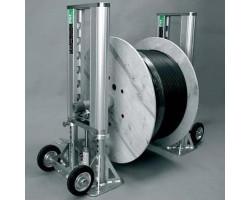 Домкрат гидравлический Uniroller-1000 для размотки барабанов с кабелем до 4 т Uniroller