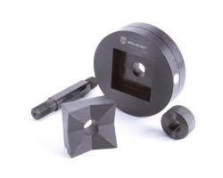 Матрица для пробивки квадратных отверстий МПО 68х68 мм КВТ