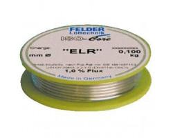 Припой 0,25 мм с безотмывочным флюсом 100г FLD-230187 Felder