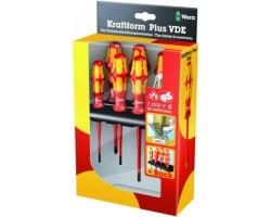 WE-006148 Набор отверток + индикатор напряжения+ подставка 160 i/165 i/7 Rack Wera