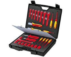 KN-989912 Knipex Набор инструментов в чемодане VDE