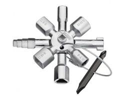 KN-001101 Ключ для для эдектрошкафов с битой TwinKey KNIPEX