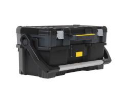 1-97-506 Открытый профессиональный пластмассовый ящик для инструмента со съемным кейсом Stanley