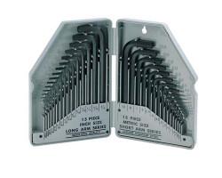 8PK-027 Proskit Набор шестигранных ключей, метрических и дюймовых