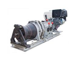 Лебедка тяговая кабестановая бензиновая ЛТБ-5 КВТ