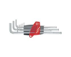 20712 Набор штифтовых ключей со сф. головкой в держ. ProStar (9 предм.)WIHA