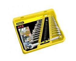 4-94-648 Набор удлиненных комбинированных гаечных ключей 8-20 мм (13шт.) STANLEY