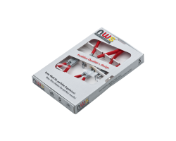 Набор-клещи для съема стопорных колец №2 хром (4 шт) NWS 793