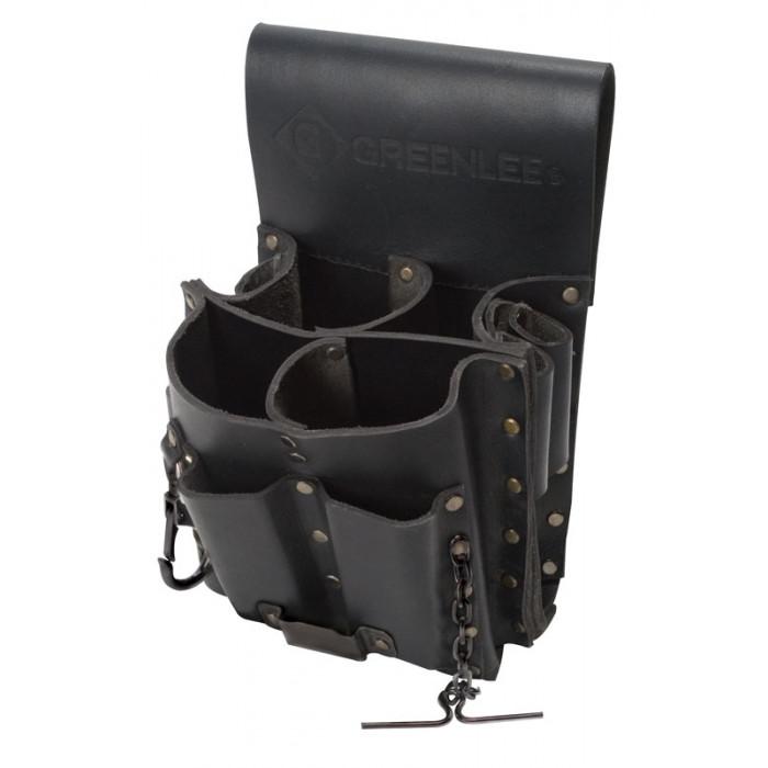 GT-56339 Greenlee 0258-11 - сумка поясная для инструмента (8 карманов)