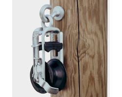 510092 LKм 108 Кабельный ролик и зажим, ролик из полиамида Ø 108/80x52, для кабелей 2x25 - 4x 95мм² VETTER