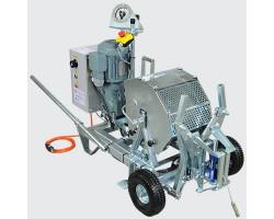 232315 SES 410 Лебедка троса-лидера, электродвигатель, усилие 410 даН, без троса (d 4 до 1100 м) VETTER