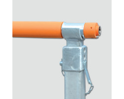 031481436 KSDK 11417 Ось для кабельного барабана D 114/2900, до 24т., VETTER