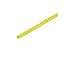 0648001695 ; упак200шт Маркировка на провод желтая ,clio ,10-3 ,ge/sw ,ц mp (200шт) Weidmueller