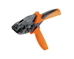9013090000 Инструмент HTF 28 для обжима ножевых наконечников и штекеров сечением 0,1-1,5 кв. мм . Weidmueller