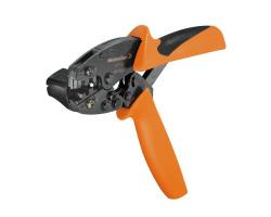 9013400000 Инструмент HTF63 для обжима ножевых наконечников и штекеров сечением 0,5-2,5 кв. мм . Weidmueller