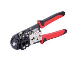 Пресс-клещи для обжима конекторов, штекеров, коаксиальных соединений