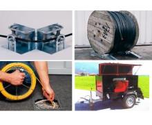 Приспособления для прокладки кабеля и труб